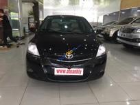 Cần bán xe Toyota Vios 1.5MT đời 2009, màu đen