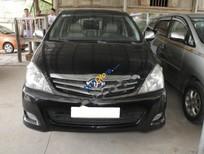 Cần bán xe Toyota Innova 2.0 G đời 2009, màu đen còn mới