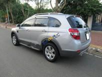Cần bán gấp Chevrolet Captiva LT đời 2007, màu bạc xe gia đình, giá 318tr