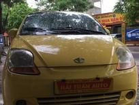 Cần bán xe Daewoo Matiz sản xuất 2009, màu vàng, xe nhập
