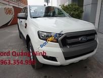 Bán Ford Ranger XLS MT sản xuất năm 2017, màu trắng, nhập khẩu nguyên chiếc