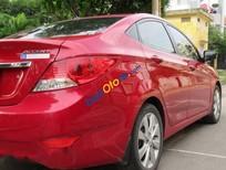 Cần bán lại xe Hyundai Accent AT sản xuất 2012, màu đỏ