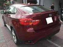 Cần bán gấp BMW X6 3.5i XDrive 2008, màu đỏ, nhập khẩu