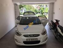 Bán xe Hyundai Accent Blue đời 2014, màu trắng chính chủ, giá tốt