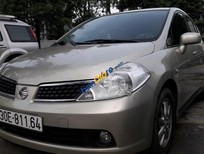 Bán xe Nissan Tiida 1.6AT đời 2008, màu bạc, Nhập khẩu nhật bản chính chủ