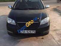 Bán xe Toyota Vios MT đời 2005, màu đen, giá chỉ 165 triệu