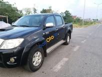 Bán xe Toyota Hilux 3.0 G đời 2009, màu đen