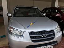 Bán Hyundai Santa Fe SLX đời 2008, màu bạc, xe nhập