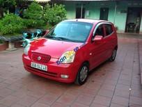 Bán Kia Morning sản xuất năm 2007, màu đỏ, xe nhập