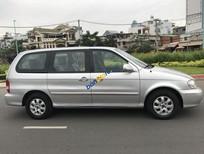 Cần bán lại xe Kia Carnival năm sản xuất 2007, màu bạc
