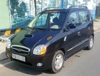 Cần bán xe Hyundai Atos 0.8AT turbo sản xuất 2002, màu đen, nhập khẩu Hàn Quốc, giá tốt
