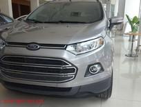 0907 352 975-Bán xe Ford Ecosport Titanium 2017, màu xám, giá chỉ 585 triệu