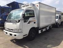 Xe tải nhẹ Kia k165 2t4 vào thành phố trả góp, xe tải kia 2.4 tấn Kia, bán xe tải trả góp 85% tp. HCM