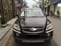Xe Chevrolet Captiva LT đời 2009, màu đen, xe gia đình