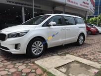 Cần bán lại xe Kia Sedona 2.2L DAT 2015, màu trắng, xe nhập, giá tốt