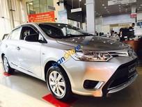 Bán Toyota Vios 1.5E MT năm sản xuất 2017, màu bạc