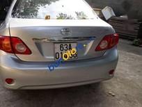 Bán xe Toyota Corolla đời 2009, màu bạc