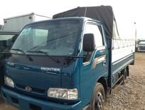 Bán Thaco Kia k165 tải 2,4 tấn, vs các loại chassis, thùng lửng, mui bạt, thùng kín, giá từ 333,5tr