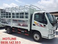 Bán trả góp xe tải 5 tấn Ollin500B thùng bạt mở 5 bửng, giá tốt nhất hiện nay