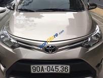 Bán Toyota Vios E đời 2016, màu vàng, 500 triệu