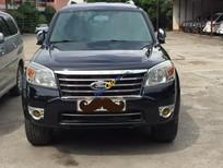 Cần bán Ford Everest XLT năm 2012, màu đen chính chủ, giá 630tr