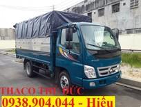 Bán xe tải Ollin 2 tấn 4 thùng bạt có mui, Ollin 345, hỗ trợ 100% trước bạ
