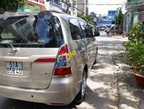 Bán xe Toyota Innova 2.0E đời 2014, màu vàng