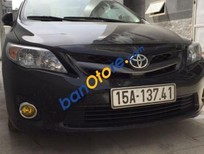 Bán Toyota Corolla altis 2.0 AT đời 2014, màu đen