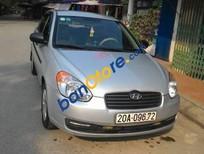 Gia đình bán Hyundai Verna đời 2009, màu bạc