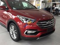 Bán ô tô Hyundai Santa Fe năm sản xuất 2017, màu đỏ