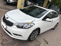Cần bán xe Kia K3 1.6AT đời 2014, màu trắng, giá tốt