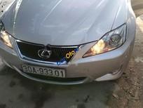 Bán Lexus IS 250 năm sản xuất 2008, màu bạc, xe nhập