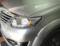 Bán Toyota Fortuner V đời 2015, màu bạc