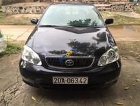 Cần bán xe Toyota Corolla altis 1.8G MT sản xuất 2002, màu đen chính chủ