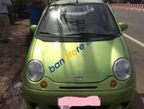 Bán Daewoo Matiz SE đời 2007 màu xanh