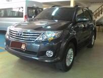 Cần bán Toyota Fortuner V đời 2012, màu xám như mới