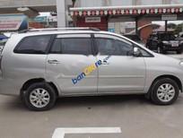 Cần bán gấp Toyota Innova 2.0G đời 2009, màu bạc số sàn, giá chỉ 460 triệu