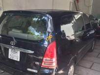 Bán Toyota Innova J đời 2008, màu đen