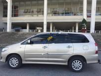 Bán Toyota Innova 2.0E đời 2014, màu vàng chính chủ, giá 585tr