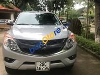 Bán Mazda BT 50 2.2 AT đời 2015, màu bạc, giá tốt