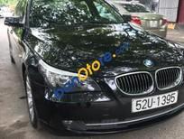 Cần bán lại xe BMW 5 Series 3.0 AT sản xuất năm 2008, màu đen, nhập khẩu