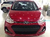 Bán ô tô Hyundai Grand i10 1.2 đời 2017, màu đỏ, 340tr
