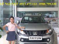 Cần bán xe Mitsubishi Triton đời 2017, màu bạc, nhập khẩu nguyên chiếc