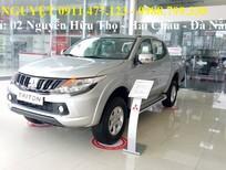 Cần bán Mitsubishi Triton đời 2017, màu bạc, nhập khẩu, giá tốt