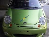 Cần bán Daewoo Matiz đời 2004, màu xanh