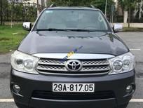 Cần bán xe Toyota Fortuner V đời 2011, màu xám (ghi), giá tốt