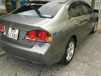 Bán xe Honda Civic 2.0 AT đời 2008, màu xám số tự động