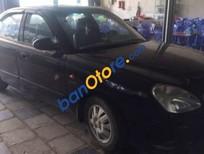 Bán xe Daewoo Nubira đời 2002, màu đen, giá 80tr