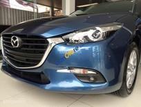 Bán Mazda 3 1.5 HB facelift 2017, màu xanh lam, giá chỉ 672 triệu