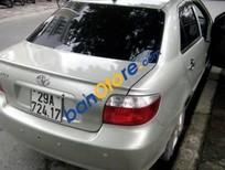 Bán xe Toyota Vios G đời 2005, màu bạc xe gia đình